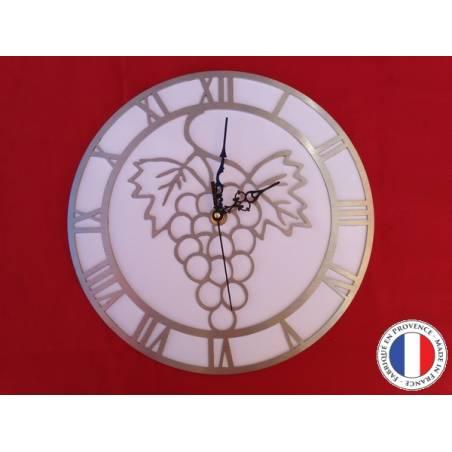 Horloge Grappe raisin