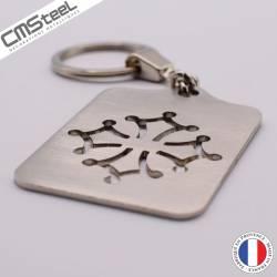 Porte clés Croix Occitane