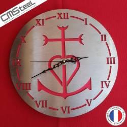 Horloge Croix Camargue