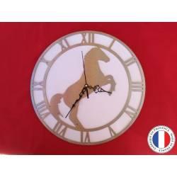 Horloge Cheval cabré
