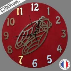 Horloge Cigale