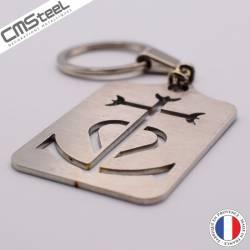 Porte clés Croix de Camargue