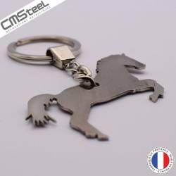 Porte clés cheval cabré