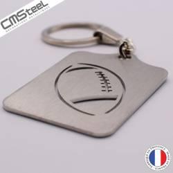 Porte clés Ballon de Rugby