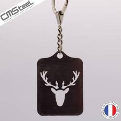 Porte clés Tête de Cerf