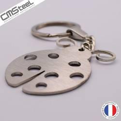 Porte clés Coccinelle