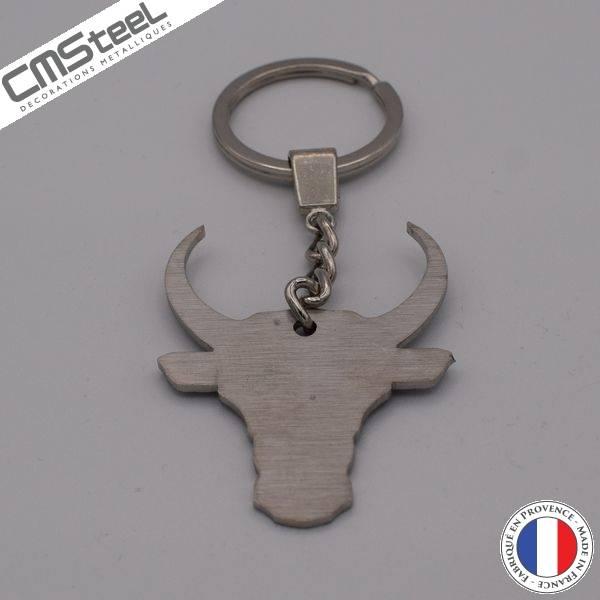 Porte clés Tête de Taureau