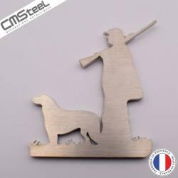 Magnet Chasseur + chien