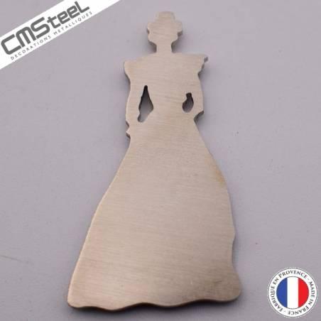 Magnet Arlesienne de dos