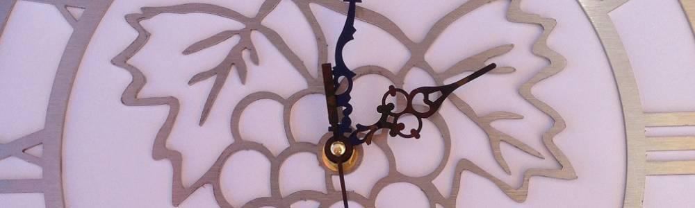 Horloge originale en inox