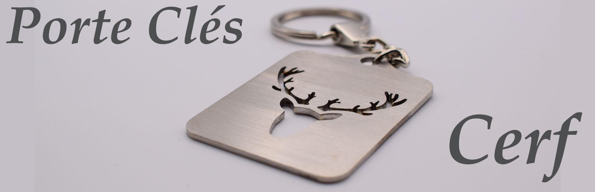 Porte clés Cerf